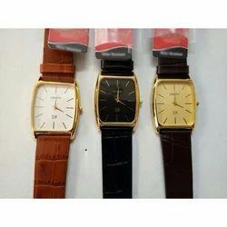 Crony Fancy Leather Strap Wrist Watch