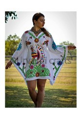 Embroidery kaftan