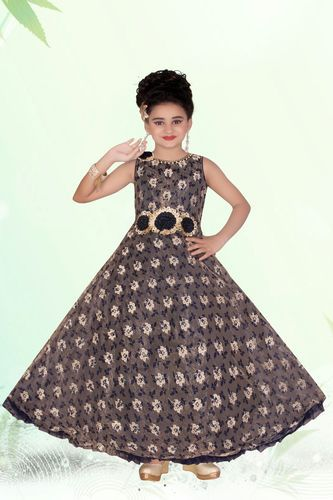 489718e7e5403 Party Wear Gown - Floor Length Kids Gown Exporter from Mumbai