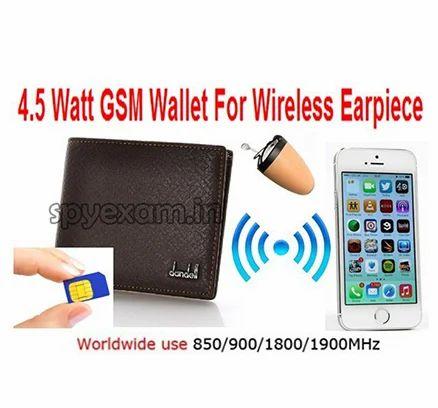 332e8757cc2 Spy Wireless GSM Wallet With Nano Earpiece Set - Hightech Gadgets ...