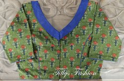Cotton Printed Designer Blouse