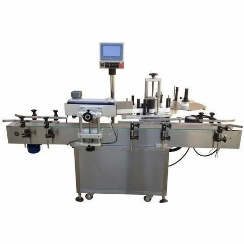 Hilda Automations Mettalic Automatic Wrap Around Labeling Machine, Capacity: Multiple, For Commercial