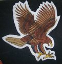 Eagle Embroidered Patch