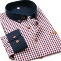 Jd Choice Party Wear Mens Casual Cotton Check Shirts, Size: S-xxl