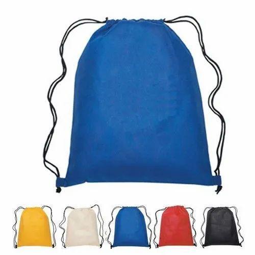 Printed KAMIO Drawstring College Bag