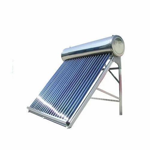Termotanque solar de acero inoxidable 200L