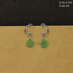 Indo Western Stone Studded Earrings