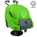Walk Behind Manual Vacuum Sweeper