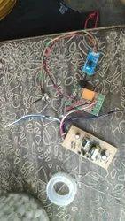 Hand sanitizer kit with sensor