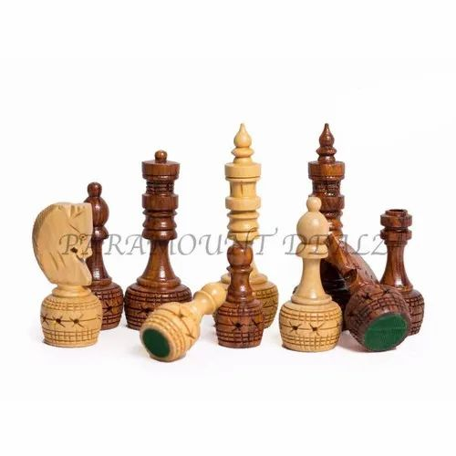 Handcrafted Wooden Chess Pieces
