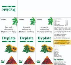 Ayurvedic Proprietary Medicine For Plates