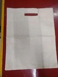 Plain D Cut Cloth Carry Bag, Capacity: 2kg