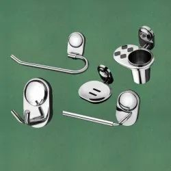 Wall Mounted Stainless Steel Bathroom Fixtures