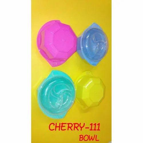 Edible & Non-Edible Moisture Proof Plastic Round Box, Capacity: 200 - 300 Ml