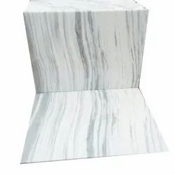 Glossy White Flooring Marble, Slab, Thickness: 20-25 mm