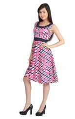 Today Fashion Multi Colour multi colour printed dress tfd1019