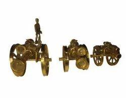 Brass Canon Home Decor