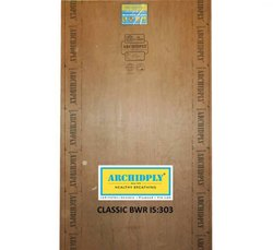 Archidply Fire Resistant Plywood, for Furniture, Grade: Mr