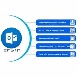 OST to PST Outlook Data Converted Services