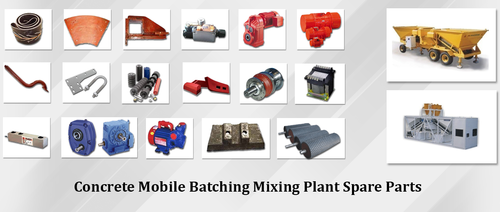 Macons Planetary Pan Type Mixer Spare Parts