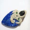 Handmade Tibetan Style Gemstone Pendant