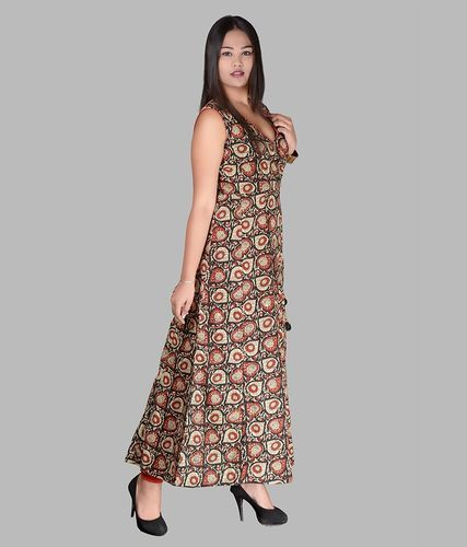 480a1202bc Cotton Printed Full Length Maxi Type Dress