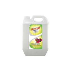 Nirmal phenyl white herbal liquid floor cleaner, Packaging Type: Can
