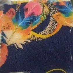 54 Inch Bubble Chiffon Digital Print Fabric, For Garments