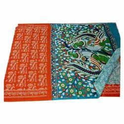 Casual Wear Kalamkari Cotton Saree, 5.5 m (separate blouse piece)