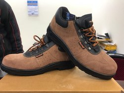 Vaultex Brown Sporty Look Shoes