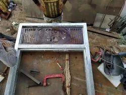 Silver gi Metal Door Frames