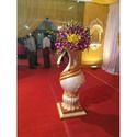 Fiber Wedding Flower Pot