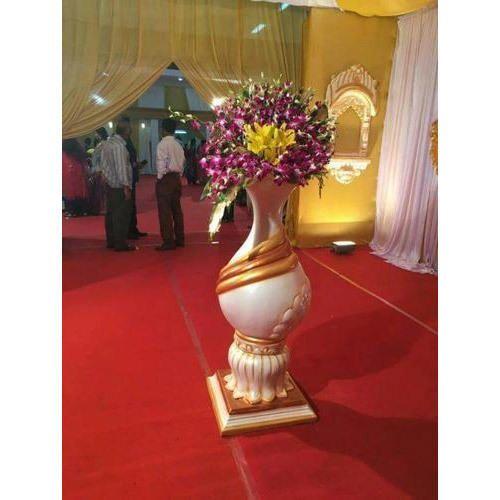 225 & Fiber Wedding Flower Pot