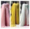 Women Georgette Designer Party Wear Dress, Size: Free