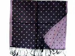 Silk Polka Dot Muffler