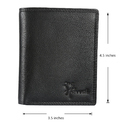 LWFM00144 Black Mens Leather Wallet