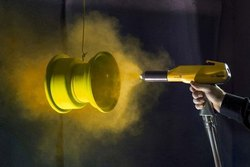 Powder Coating Services, Spray
