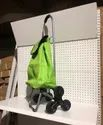 Three Plain Foldable Stairs Shopping Trolley Bag, For Material Handling