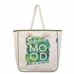 Printed Tote Canvas Bag