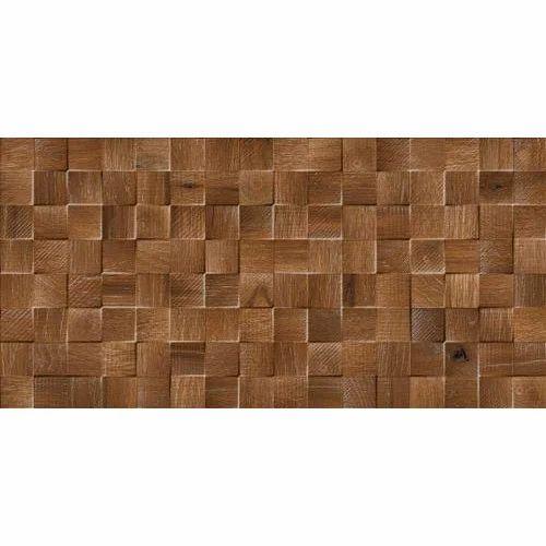 Brown Decorative Wall Tile 4040 Mm Rs 40 Box Pramukh Sanitary Mesmerizing Decorative Wood Wall Tiles