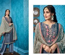 Pure Viscose Silk Suits Heavy Dupatta
