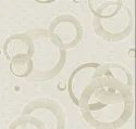 Laminated Circle Design Room Wallpaper, 2 Feet