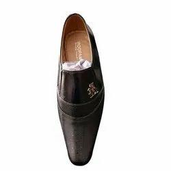 Formal Wear Slip On Kids Synthetic Foam Black Shoes