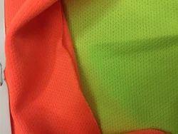 Hari Har Orange, Green Dobby Fabric