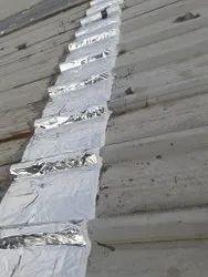 Self Adhesive Aluminum Laminated Waterproofing Membrane, Coverage: 20 Square Meter, Silver