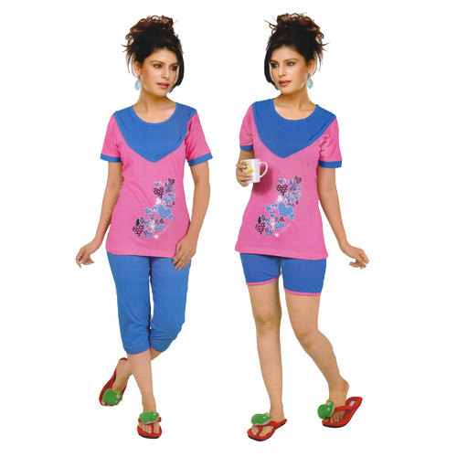 712d411e4a8 Girls T-Shirt Lower Night Suit