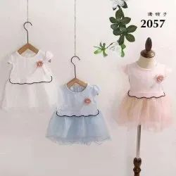 Party Wear Designer Girls Frock Size 0 To 36 Month