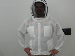 Single Layer Beekeeping Ventilated Fencing Hood Jacket