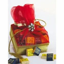 Wedding Gift Basket of Assorted Chocolates (Customizable)