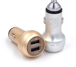 Electric 1.2m Car Charger with USB Cable, Model Number: DVCHB089